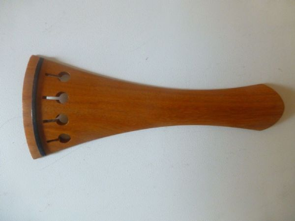 FRENCH MODEL VIOLIN TAILPIECE, PURE PERNAMBUCO, IMPROVE YOUR SOUND, 4/4 SIZE
